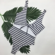 brazilian 2017 Bathing suit women maillot de bain Two-Piece Sexy Swimwear Set Stripe