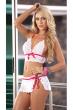 white lingerie bikini