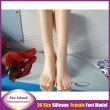 male adult products full silicone fake sexy female legs real skin texture feet worsh