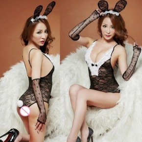 Sexy lingerie Exotic lingerie sexy bunny costumes cosplay Sexy underwear lace bunn