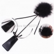 50 Shades Of Grey PU Leather Spanking Paddle Flirting Tickling Feather Whip Teasing