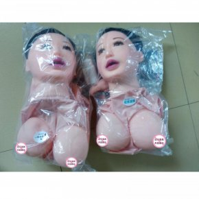 Inflatable sex dolls Adult male masturbation supplies half solid reality silica
