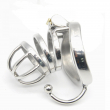 Stainless Steel Male Chastity Device Cock Cage Virginity Lock Penis Lock Cock Ring