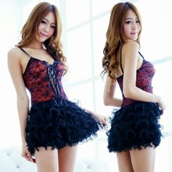Sexy lingerie sexy costumes lace Puffy princess Baby Dolls sexy nightclub cospla