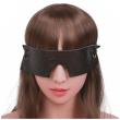 Brown Vintage Genuine Leather Sex Eye Mask Sleeping Shade Blindfold Slave Bdsm Mask Bondage Sex Toys For Woman Couples