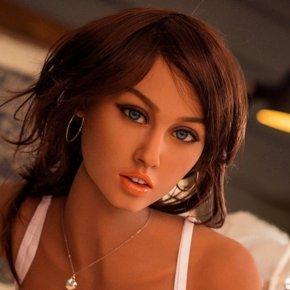 166cm 5ft5 C Cup Beautiful Brunette Love DOll Tan Skin