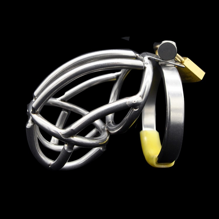 New-Stainless-steel-Male-Chastity-device-Nice-HOT-A136